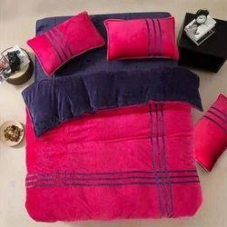 Single Velvet Bed Sheet