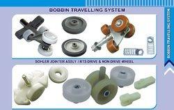 Textile spinning BOBBIN TRANSPORT SYSTEM SCHOLER, ELECTROJET