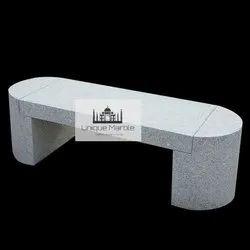 Grey Granite Bench