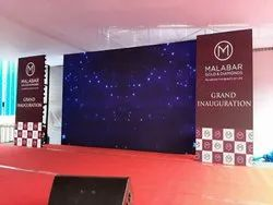 LED Wall And Stage For Rent
