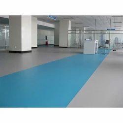 Blue PVC Vinyl Flooring