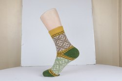 Ladies Woolen Printed Hand Wash Socks