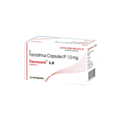 Tacrocord 1mg Capsules