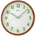 Analog Plastic Brown Seiko Wall Clock, Size: 31.1 Cm X 31.1 Cm X 3.9 Cm