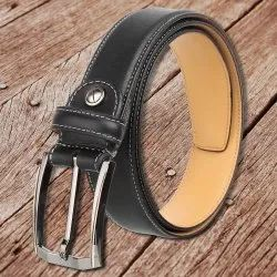 Mens Formal Black Leather Belt