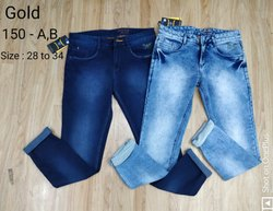 Comfort Fit Stretchable Jeans