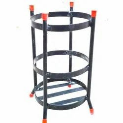Black Fire Extinguishers Stand