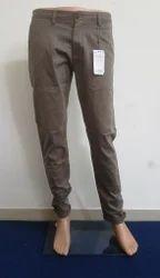 Mens Cotton Designer Trousers, Size: 30-36