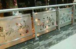 Bar Steel Glasses Railing
