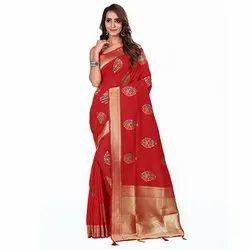1500 Ethnic Handloom Silk Saree