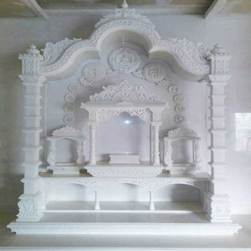 Dn International Home White Marble Temple Rs 1150000