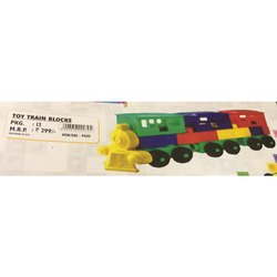 Toy Train Blocks