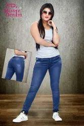 Ladies Stretchable Denim Jeans
