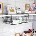 SS Under Shelf Rack Basket Organizer Basket