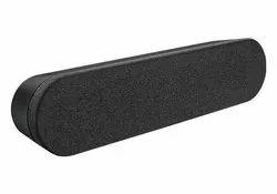 Black Logitech Rally Speaker, Packaging Type: Box