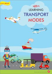 Adiuvaret Kids 2-3 Years Learning Transport Modes, PLAY GROUP