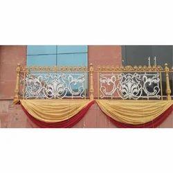 Cast Iron Balcony Grill