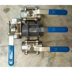 AMBIT Make Three Piece Design Ball Valve