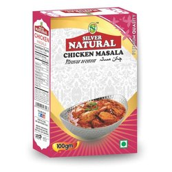Silver Natural 100g Premium Quality Chicken Masala, Packaging Size: 100 g