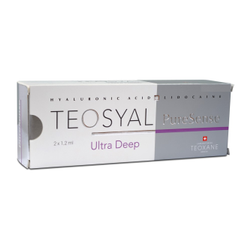 Teosyal Ultra Deep PureSense 2x1.2ml Cosmetic Fillers
