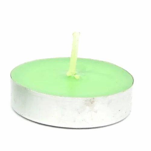 Wiwa Green Tea Light Candles
