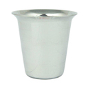 Silver Round Dumroo Glass, For Restaurant, Capacity: 500 Ml