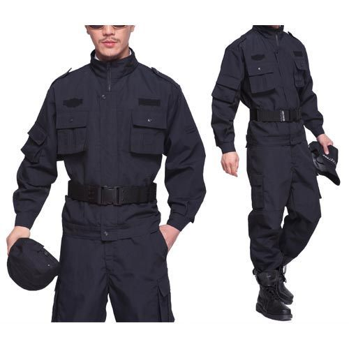 31925216 Cotton Black Security Guard Uniform, Mayank Fashion | ID: 15082990148