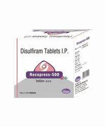 Recopress 500 / Disulfiram 500 Mg Tablet