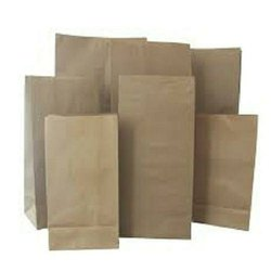 brown Medicine Kraft Paper Bag