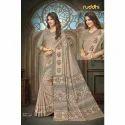 Ladies Silk Casual Printed Banarasi Saree, Length: 5.5 M