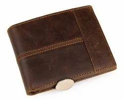 Brown Genuine Hunter Leather Wallet
