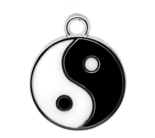 Feng shui yin yang pendant for good luck and prosperity meta at rs feng shui yin yang pendant for good luck and prosperity meta aloadofball Choice Image