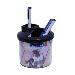 Bharti Axa Bank Hut Pen Holder