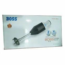 Boss Hand Blender, Packaging Type: Box