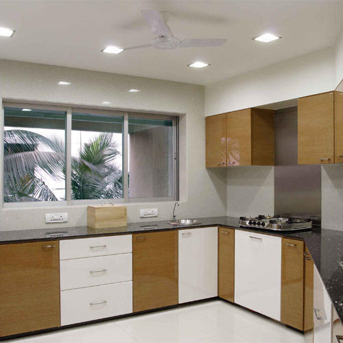Modern Italian Modular Kitchens Rs 1100 Square Feet: UP Furniture L Shape Ular Modular Kitchen, Rs 700 /square