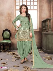 Ladies Assorted Party Wear Punjabi Suit