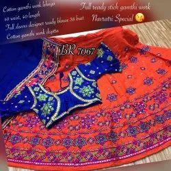Cotton Garba Gamthi Chaniya Choli