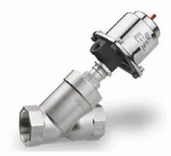 1-1/2 Pneumatically Y Type Control Valve NC (Screwed)