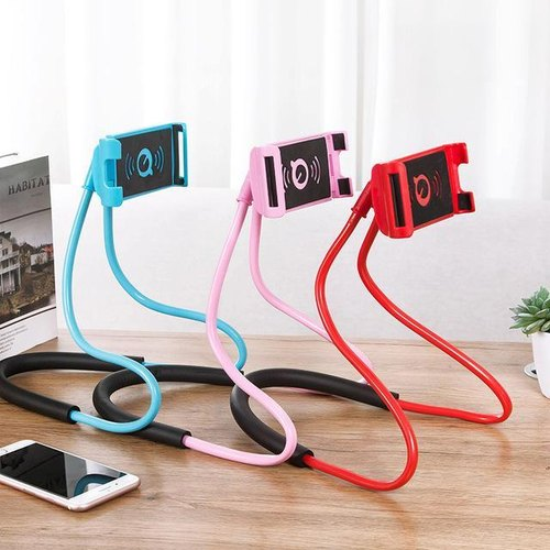 Cell Phone Holder Flexible Adjustable Diy Hands Free 360 Rotable Mount