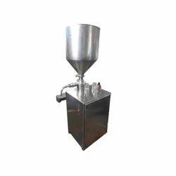 Semi Auto Cream Filling Machine