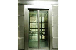 Automatic Center Opening Glass Door for Lift