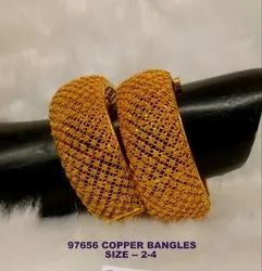 Golden Copper Bangles