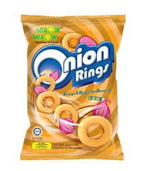Miaow Miaow Onion Rings, Packaging Size: 65g And 125g, Packaging Type: Packet And Can