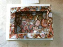 Red Agate Sink