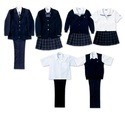 Cotton And Polyester Convent School Uniforms
