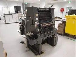 Single Colour Heidelberg GTO 52 NP Mini Offset Machine, Sheet Fed