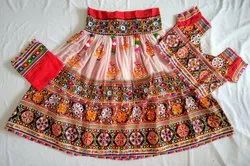 Gujarati Handmade Kutch Work Chaniya Choli - Navratri Costume