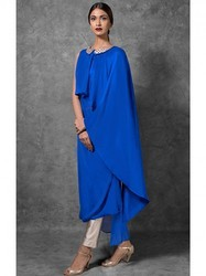 Womens Blue Tunic