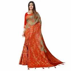 1580 Jacquard Silk Saree