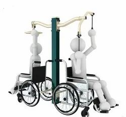 Handicapped Arm Stretcher And Overhead Wheel